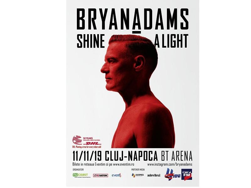Concert Bryan Adams 11 noiembrie 2019, Cluj- Napoca