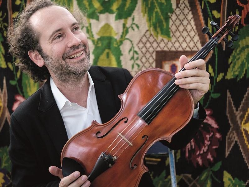 Răzvan Popovici - violist, directorul Festivalului SoNoRo
