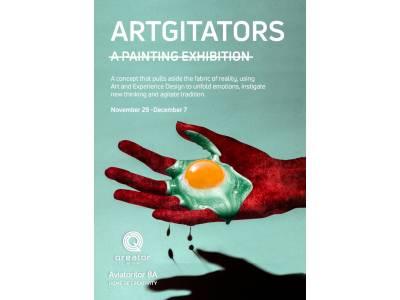 Artgitators, o expoziție care agită tradiționalul