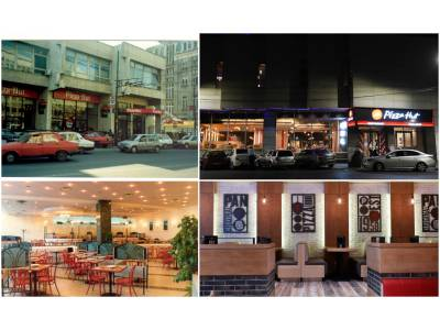 Pizza Hut - 25 de ani de la deschiderea primului restaurant din România