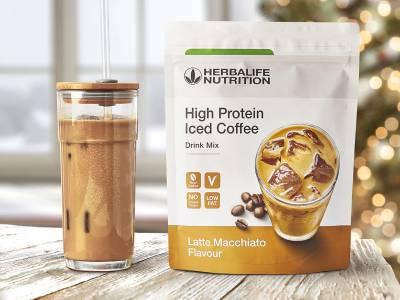 """Începe ziua în forță cu noul """"High Protein Iced Coffee"""""""