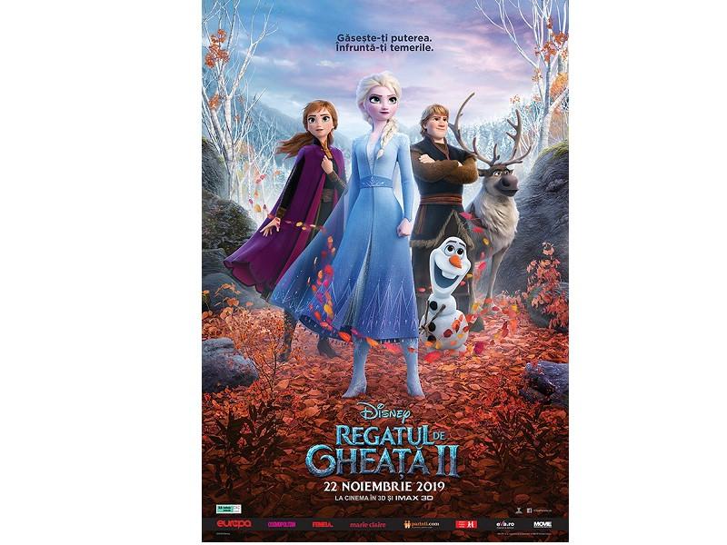 """""""Frozen II / Regatul de gheață II"""" doboară record după record  și scrie istorie pentru Disney și în România"""
