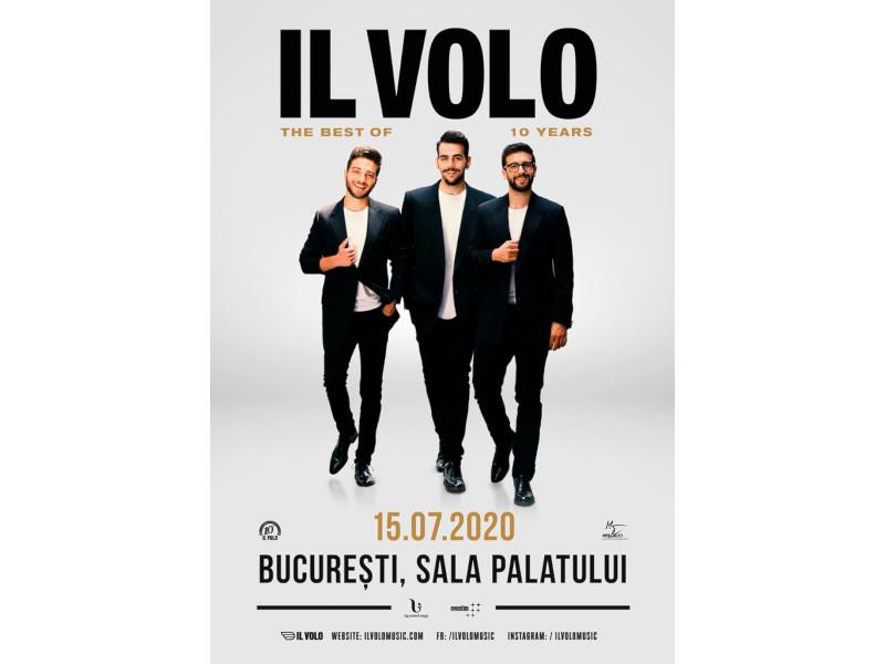 """IL VOLO va concerta pentru prima dată în România în cadrul turneului mondial """"The best of 10 years"""""""