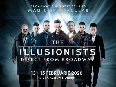 The Illusionists: Cei mai mari iluzioniști din lume în premieră la București, în februarie la Sala Polivalentă