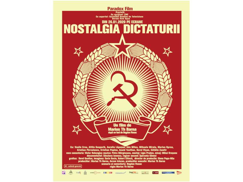 """În curând va avea loc premiera filmului documentar """"Nostalgia Dictaturii"""""""