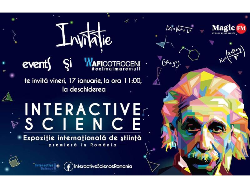 Expoziția internațională de știință Interactive Science ajunge la București