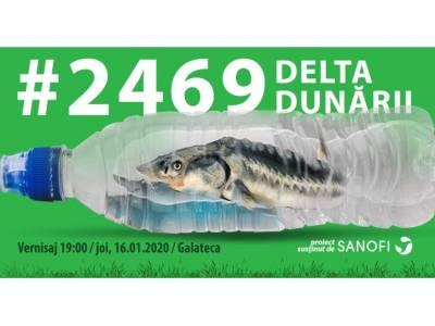 """""""2469_Delta Dunării"""" - o expoziție manifest  pentru un viitor cu mai puțin plastic"""