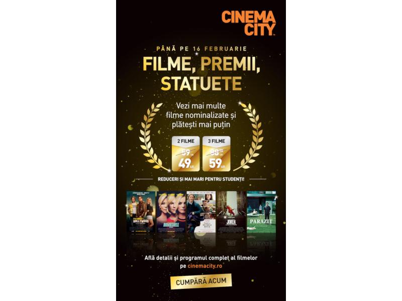 """6 zile cu 6 filme de Oscar - """"Parazit"""": pe marele ecran în cinematografele Cinema City din toată țara"""