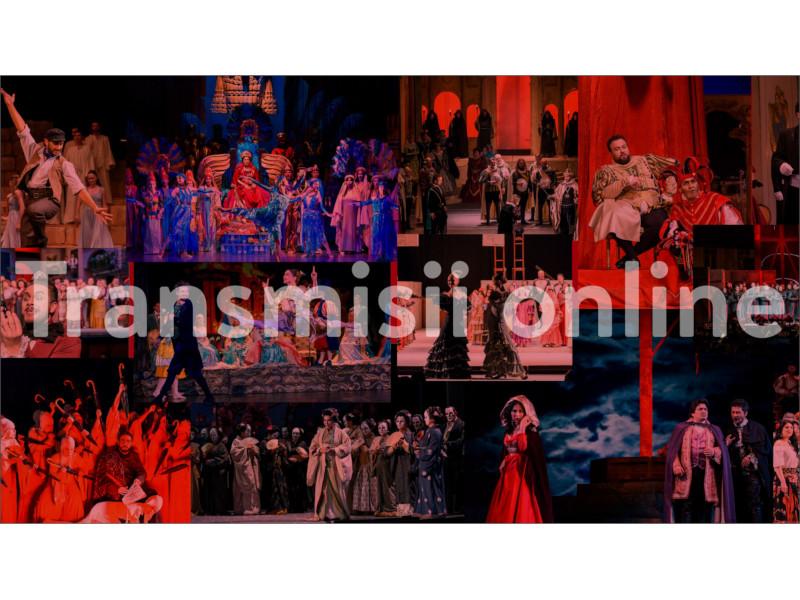 Teatru, operă sau concert... la un click distanță