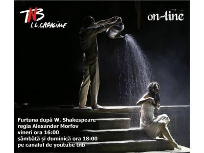 Teatrul Național București începe din acest weekend difuzarea online a spectacolelor