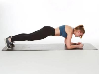 Fă sport și în izolare: Plankurile te ajută să fii în formă