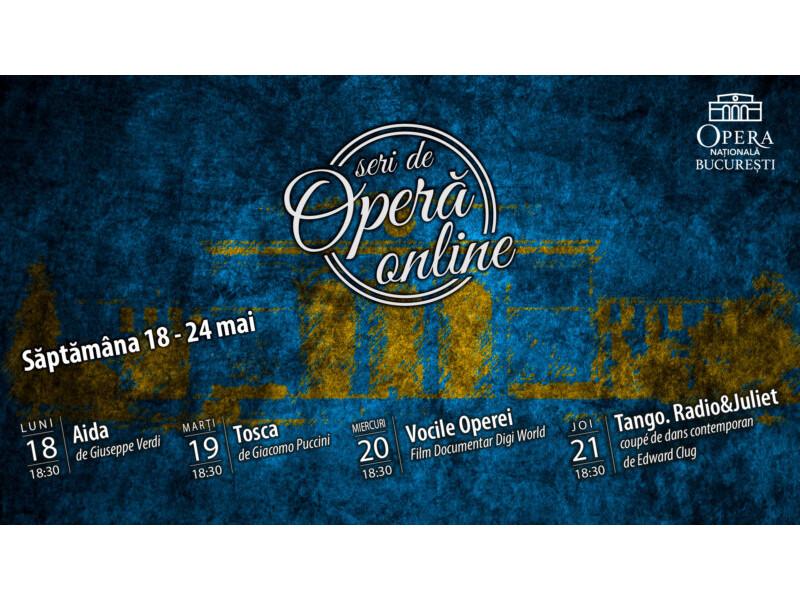 Aida, Tosca și Juliet se întâlnesc la Opera Națională București