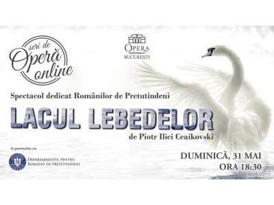 Opera Națională București dedică cea mai frumoasă poveste de balet Românilor de Pretutindeni