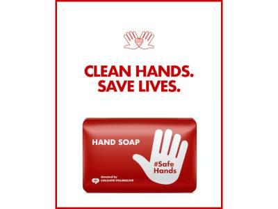 Colgate – Palmolive donează peste 65.000 de produse pentru sănătate și igienă în România și sprijină campania globală #SafeHands pentru combaterea COVID – 19