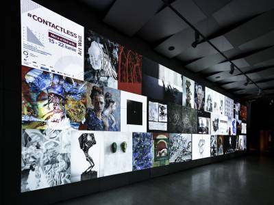 #Contactless Art Wall și Inside/Outside - Două concepte expoziționale la redeschiderea Galeriei Galateca