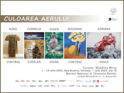 """Vino să vezi """"Culoarea aerului"""" la Muzeul Național al Țăranului Român"""