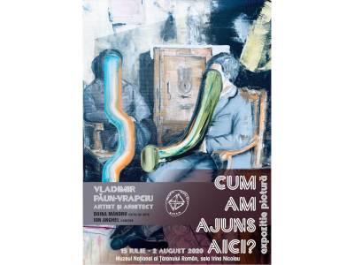 """""""Cum am ajuns aici?"""" - Expoziție de pictură și grafică la Muzeul Național al Țăranului Român"""