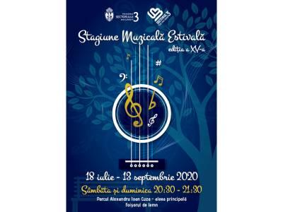 """Concerte gratuite în aer liber în parcul """"Alexandru Ioan Cuza"""" din București"""