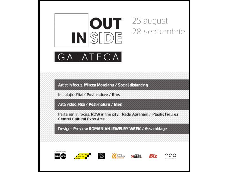 Inside/Outside 2.0 Galateca - O nouă serie de proiecte în cadrul proiectului curatorial din vitrinele galeriei