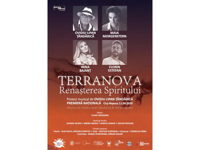 O premieră extraordinară prezentată pe scena Opera Summer Hub - Ovidiu Lipan Țăndărică lansează un proiect de suflet la Cluj-Napoca: TERRANOVA: Renașterea Spiritului