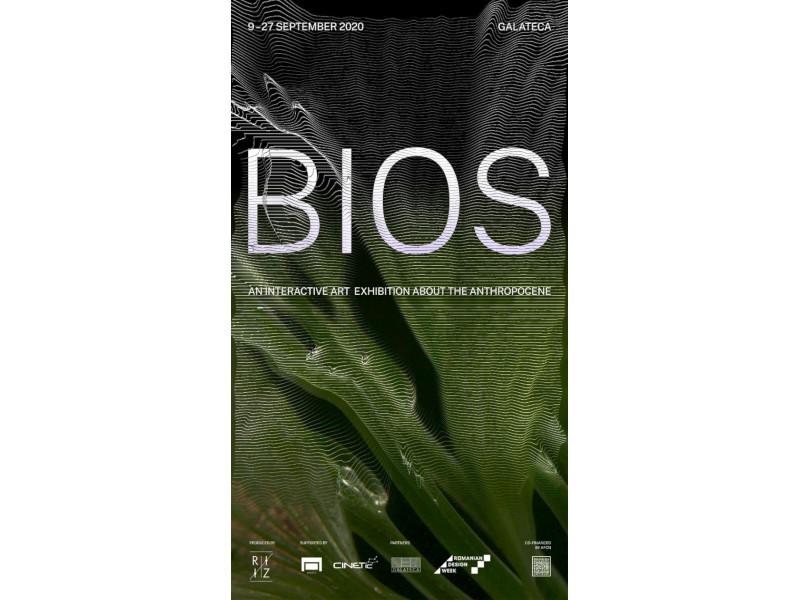 """Galateca găzduiește între 9 și 27 septembrie proiectul """"BIOS - an interactive art exhibition about the Anthropocene"""""""