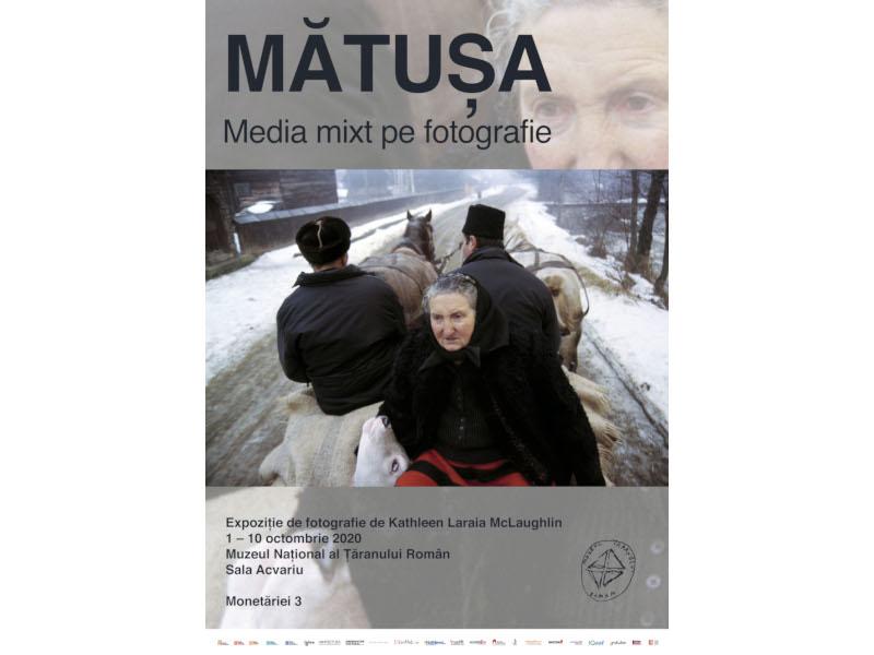 Mătușa. Media mix pe fotografie | Expoziție de Kathleen Laraia McLaughlin