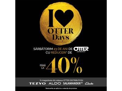 La aniversarea de 23 de ani, Otter Distribution sărbătorește cu 40% reduceri în cadrul Otter Days