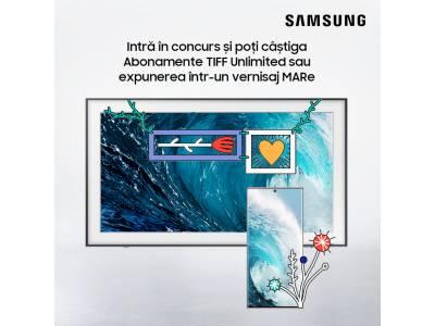 Samsung Galaxy Note20 și The Frame provoacă artistul din tine și îți expun creațiile la Muzeul de Artă Recentă
