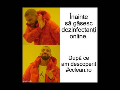 Marea dezinfectare cu #cclean