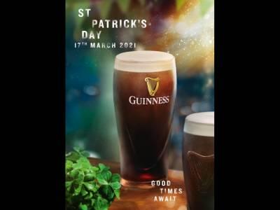 Guinness inspiră consumatorii de pe tot globul să trăiască spiritul autentic irlandez de St. Patrick's Day 2021