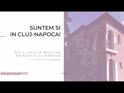 Adinish, primul magazin de puericultura scandinava din Romania deschide portile celui de-al doilea showroom