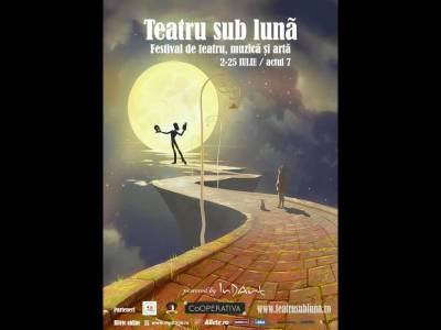 Teatru sub lună - ediția a 7-a readuce arta în aer liber