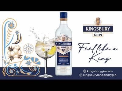 Alexandrion Group lansează KINGSBURY LONDON DRY GIN,  simultan pe piaţa din România şi la nivel internaţional
