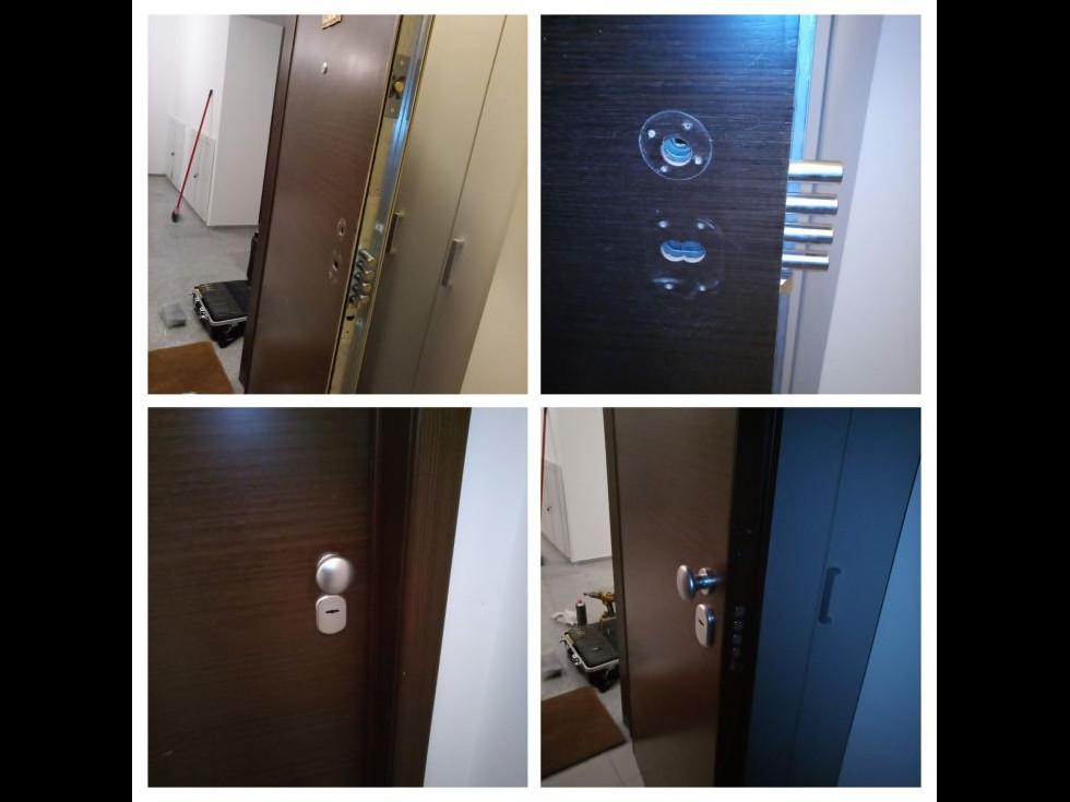 Ușile pot fi deblocate ușor, fără a fi deteriorate