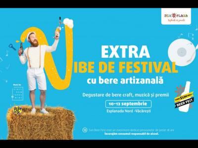 Sun Plaza organizează Sun Beer Fest, festival de bere artizanală, între 10-12 septembrie