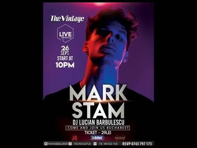 Mark Stam la Vintage Pub