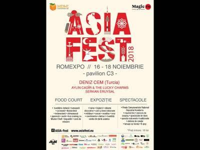 ASIA FEST ediția a VI-a | 16-18 noiembrie | Romexpo (C3)