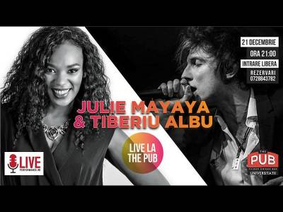 Julie Mayaya & Tiberiu Albu | The PUB is Live Music