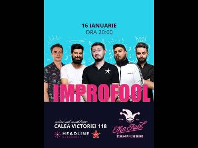 ImproFool cu Micutzu, Bucălae, Geo, Claudiu & Adrian Nicolae
