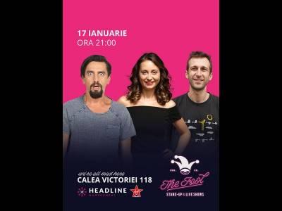 Stand-up comedy cu Natanticu, Radu Isac & Ana-Maria Calița