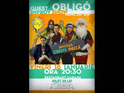 Show de Improvizație cu Trupa Obligo