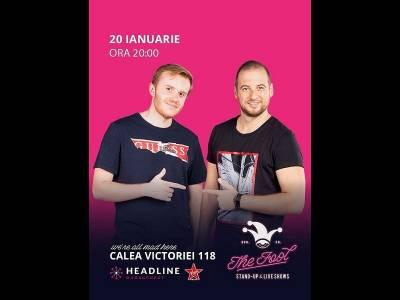 Stand-up comedy cu Rusu & Ciobanu
