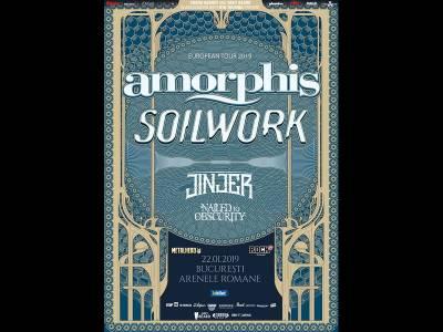 Concert Amorphis, Soilwork și Jinjer