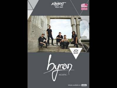 Byron - concert acustic