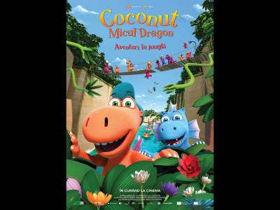 Coconut, micul dragon - Aventuri în junglă