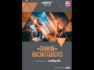 Robin And The Backstabbers / Melting Dice / Expirat
