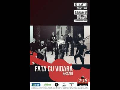 Fata cu vioara & Band Live
