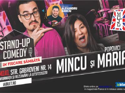 Stand-up Comedy cu Banciu, Mincu și Maria Popovici