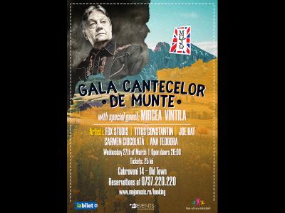 Gala cântecelor de munte cu Mircea Vintilă