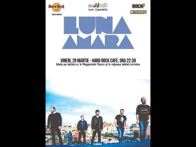 Concert Luna Amară